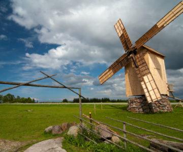Windmill, Saaremaa