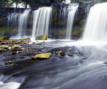 beautiful waterfalls in Keila-Joa